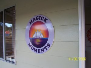 Magick Moments  sign