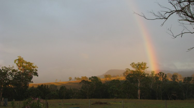 This morning's rainbow blessings...