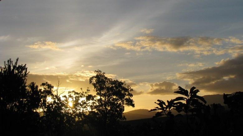 Each sunset is unique...