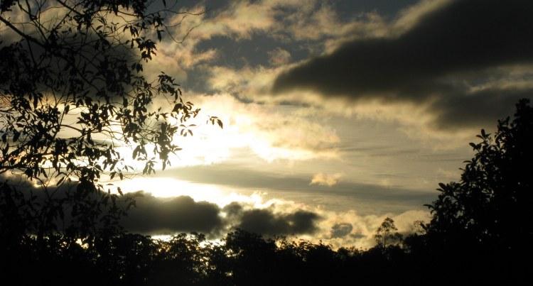 sun is rising...