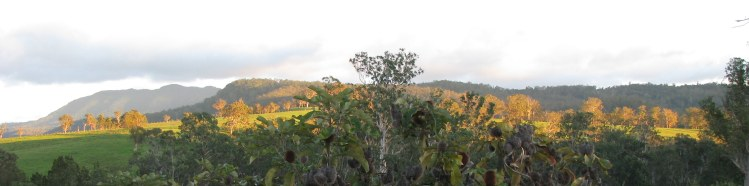 the border ranges...