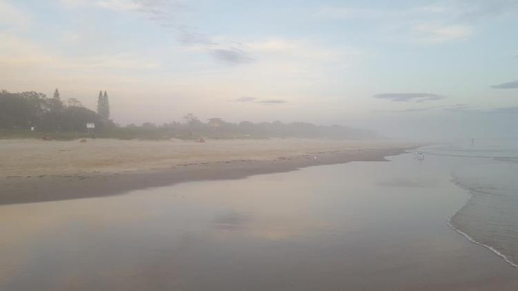 another beach dawn